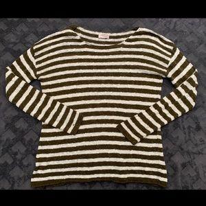 Striped F21 Sweater